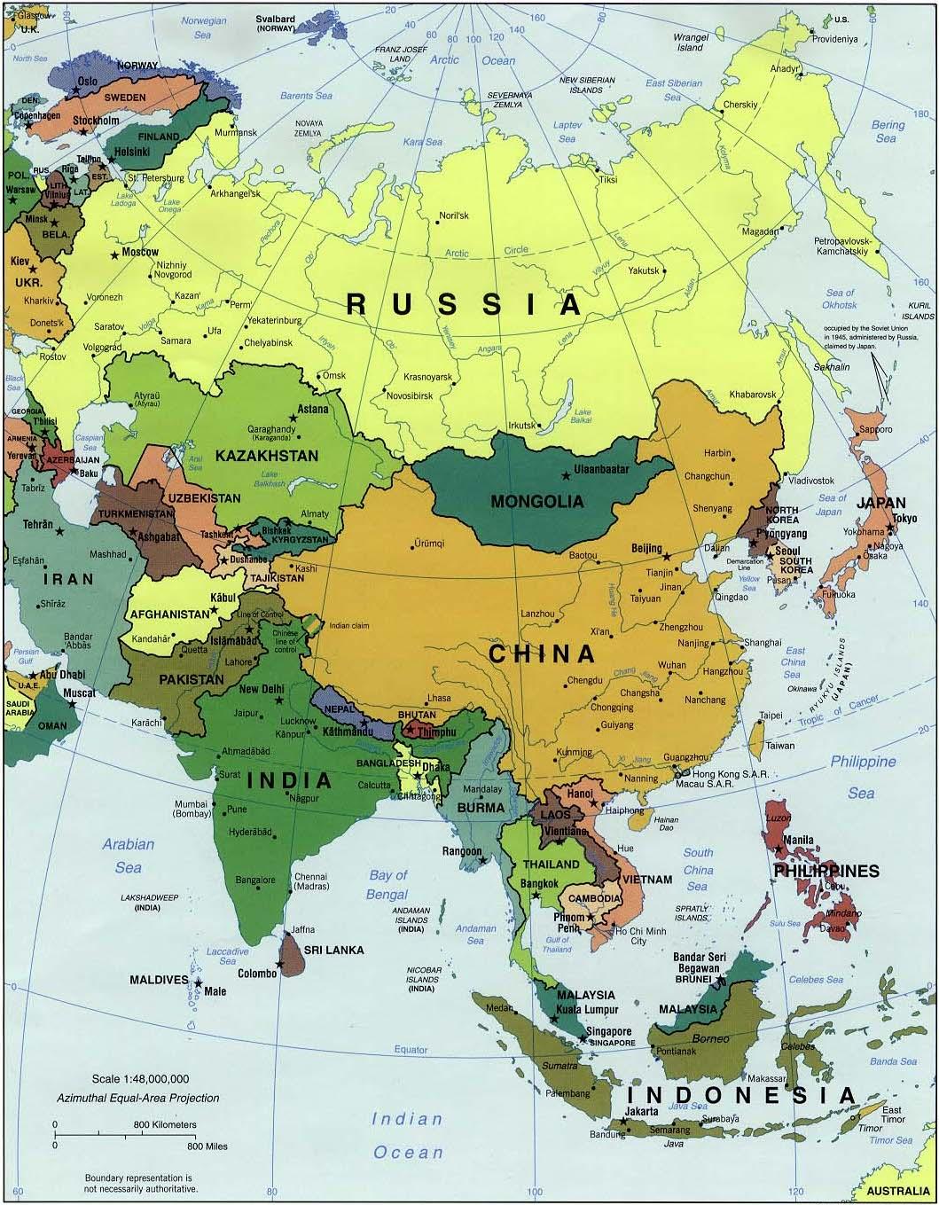 karta asien på svenska mrHarrs SO blogg för klass 8: Asiens Karta karta asien på svenska