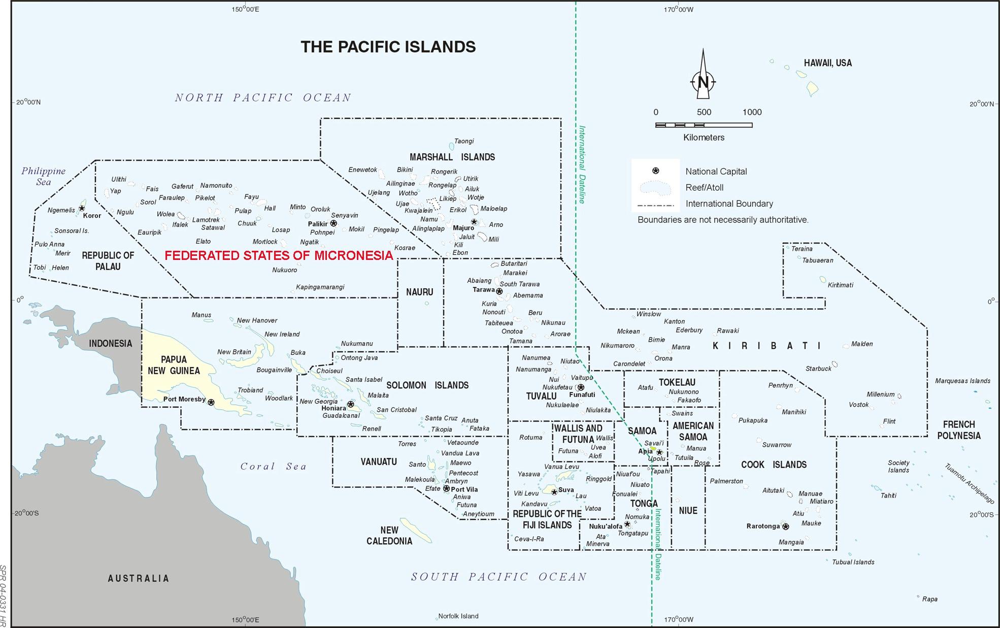 Australien Karta Lander.Oceanien Travel Forum