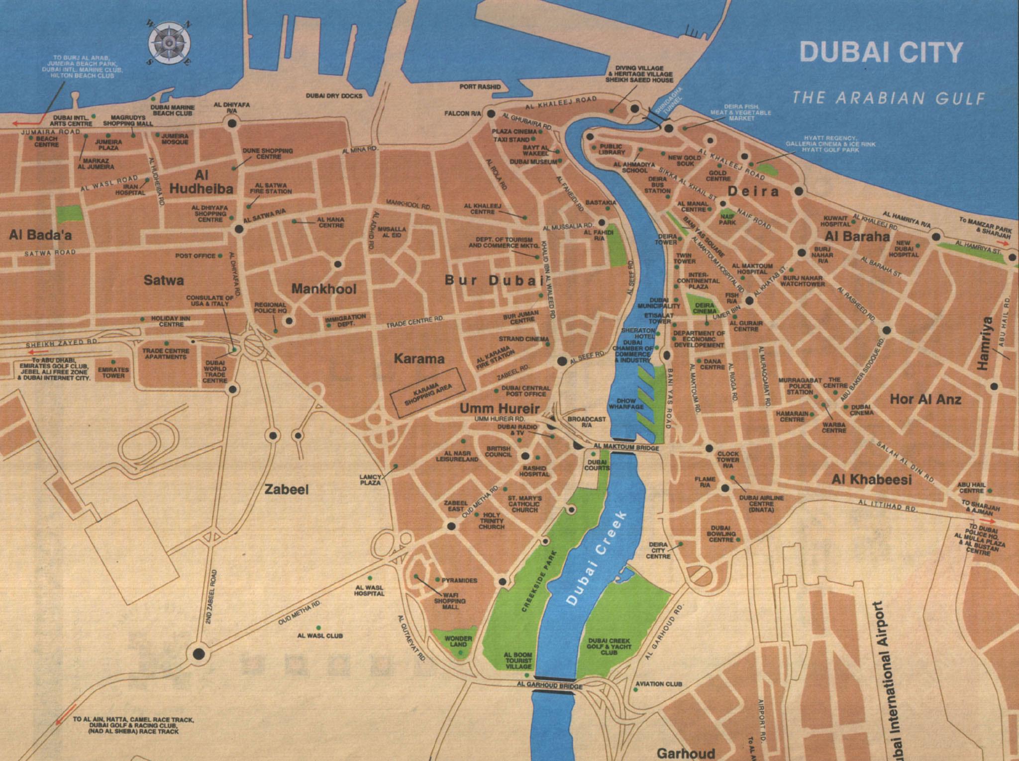 karta över dubai Dubai | Travel Forum karta över dubai