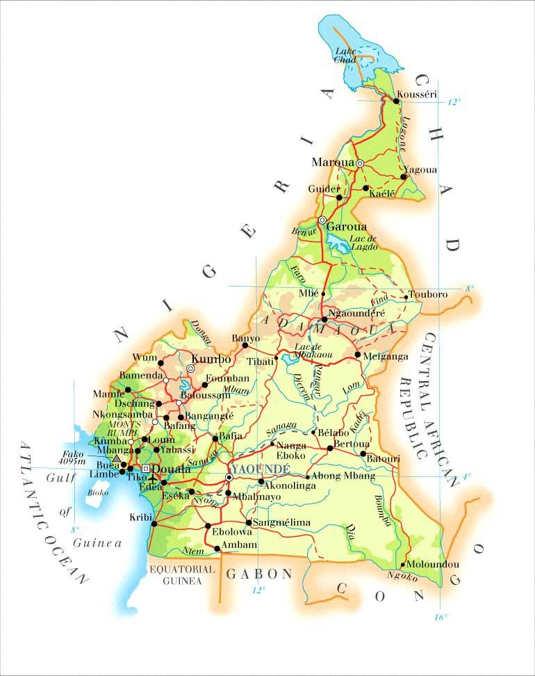 karta kamerun Kamerun | Travel Forum karta kamerun