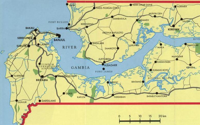 gambia karta Gambia Religion   takvim kalender HD gambia karta
