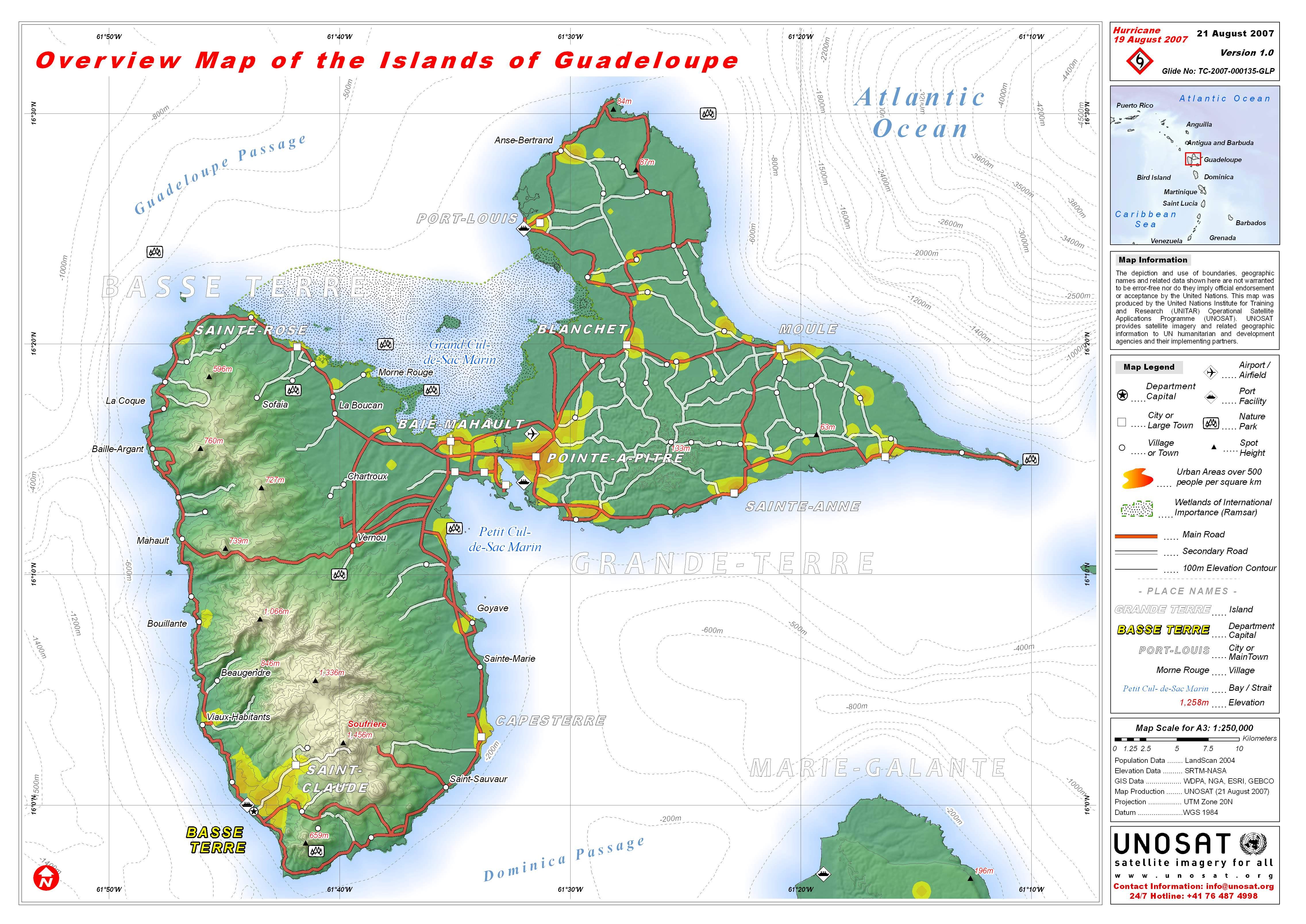 guadeloupe karta Guadeloupe   Travel Forum guadeloupe karta