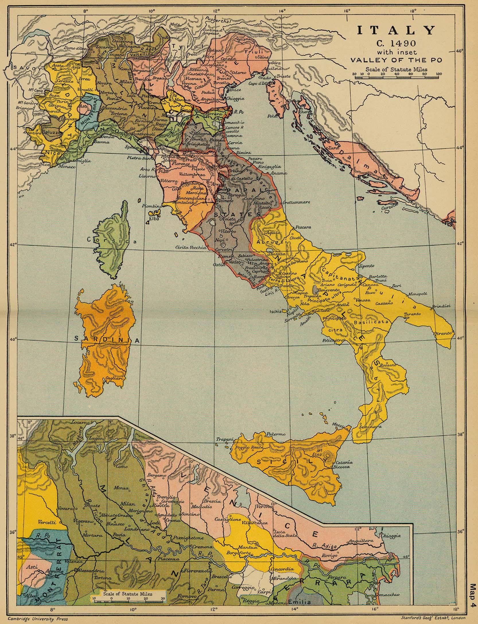 italien landskod