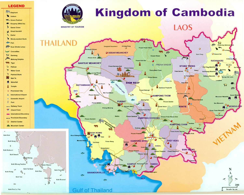 kambodja karta Kambodja | Travel Forum kambodja karta