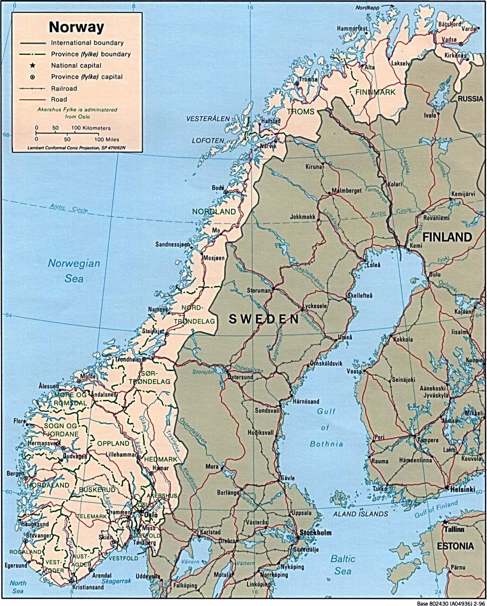 Karta Over Tromso Karta 2020