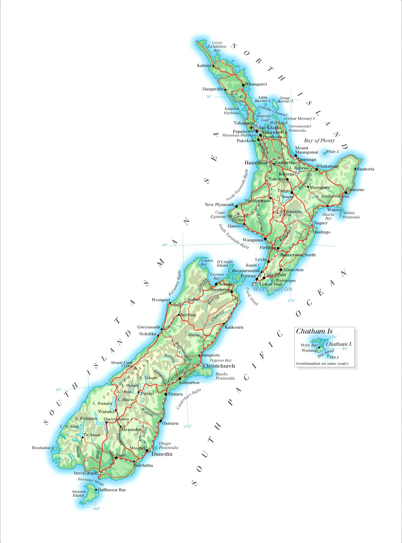 Nya Zeeland Travel Forum