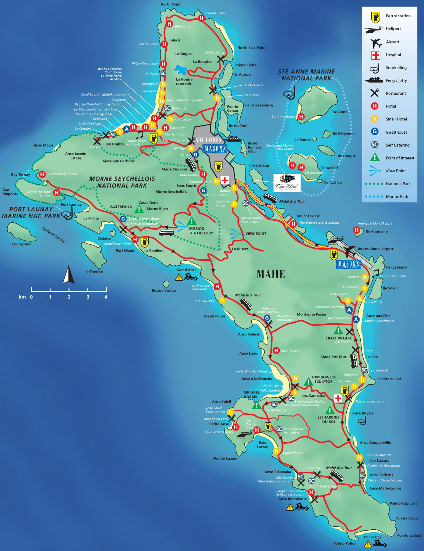 Karta Afrikas Ostkust.Seychellerna Travel Forum