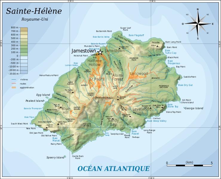 ö karta Sankta Helena | Travel Forum ö karta