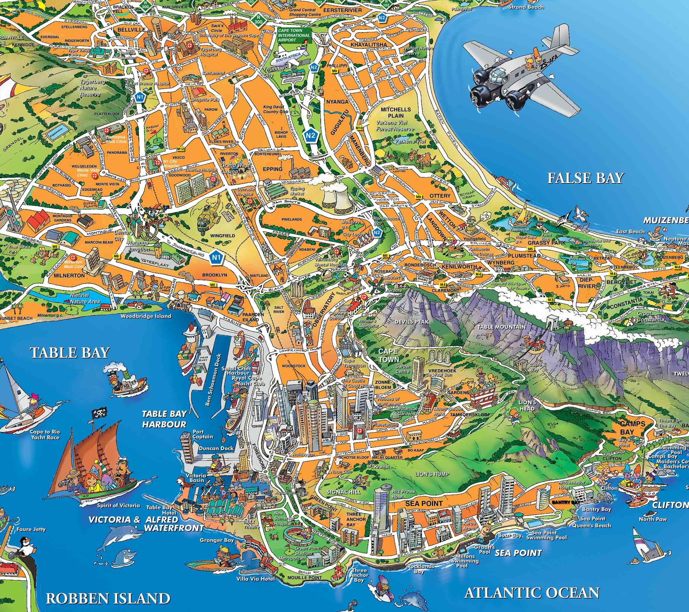 kapstaden karta Kapstaden | Travel Forum kapstaden karta