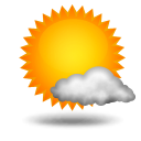 Humid and Partly Cloudy
