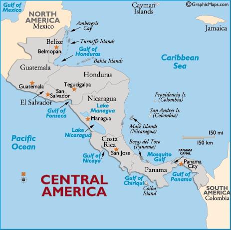 karta centralamerika Centralamerika | Travel Forum karta centralamerika